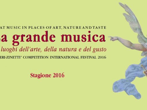 Great music in places of art, nature and taste
