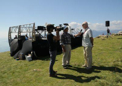 La Grande Musica nei luoghi dell'arte, della natura e del gusto, concerto sul Monte Baldo, intervista al direttore Filippo Maria Cailotto