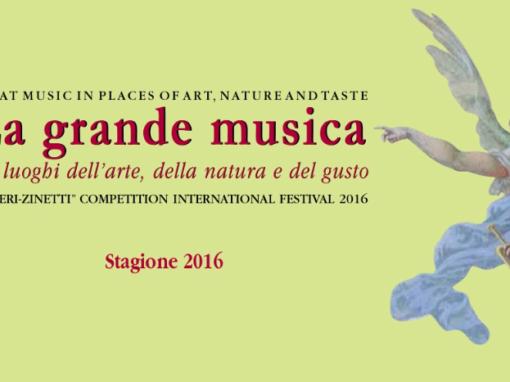 La grande musica nei luoghi dell'arte, della natura e del gusto
