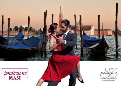 """Premio Discografico Fondazione Masi per la Civiltà Veneta, progetto di Filippo M. Cailotto. Spettacolo """"Mi Gran Tango"""""""